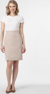 Sukienka S.Oliver Black Label prosta z okrągłym dekoltem mini