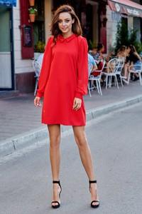 Sukienka FLORENCE mini z szyfonu