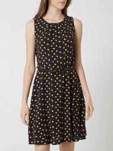 Sukienka Montego mini w stylu casual z okrągłym dekoltem
