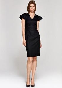 Sukienka Colett mini z dekoltem w kształcie litery v