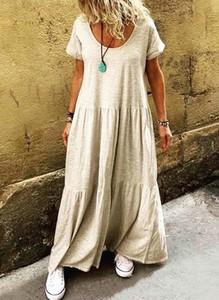 Sukienka Sandbella maxi w stylu boho