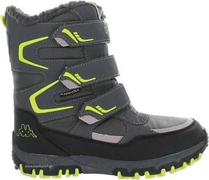 Buty dziecięce zimowe Kappa na rzepy