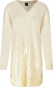 Sukienka Pinko z długim rękawem mini w stylu casual