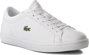82b43bd6cf184 Sneakersy lacoste - straightset bl 1 cam 7-33cam1070001 wht