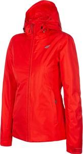 Czerwona kurtka 4F krótka