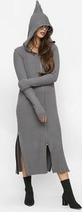 Sukienka Freeshion z długim rękawem w stylu casual