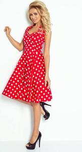 eb5a592800 sukienka retro rozkloszowana - stylowo i modnie z Allani