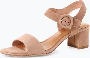 Różowe sandały Tamaris