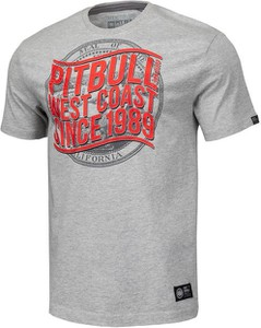 T-shirt Pit Bull z bawełny