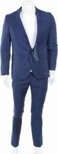 Niebieski garnitur Pier One