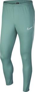 Zielone spodnie sportowe Nike