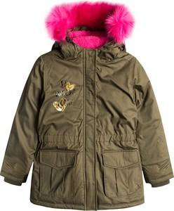 Zielona kurtka dziecięca Cool Club z bawełny