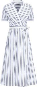 Sukienka iBlues midi w stylu casual z kołnierzykiem