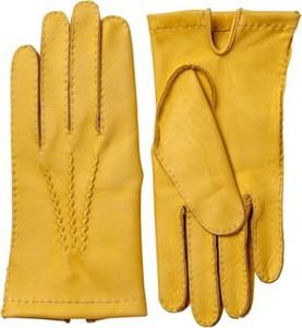 Żółte rękawiczki Hestra