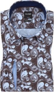 Koszula Olymp w młodzieżowym stylu z bawełny