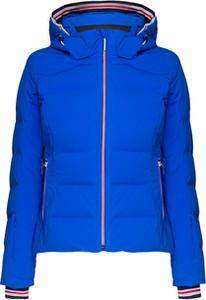 Niebieska kurtka Descente krótka