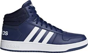 Granatowe buty sportowe Adidas Performance
