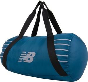 Niebieska torba sportowa New Balance