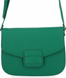 Zielona torebka Herisson na ramię