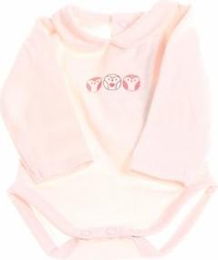 Różowe body niemowlęce Obaibi
