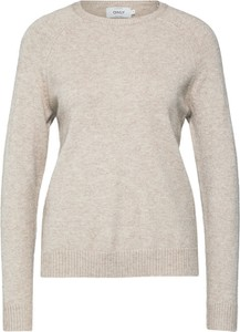 Sweter Only z dzianiny w stylu casual