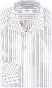 Koszula Barba z klasycznym kołnierzykiem z bawełny