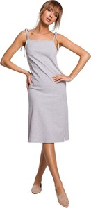 Sukienka MOE midi na ramiączkach