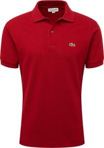 T-shirt Lacoste z dżerseju