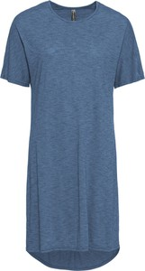 Niebieska sukienka bonprix RAINBOW z krótkim rękawem