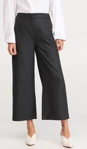 Czarne spodnie Reserved w stylu retro