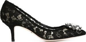 Szpilki Dolce & Gabbana ze spiczastym noskiem na szpilce