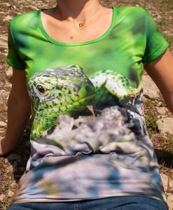 Bluzka Grupa Ventus w młodzieżowym stylu z bawełny