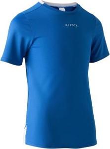 Niebieski t-shirt Kipsta