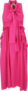 Różowa sukienka N21