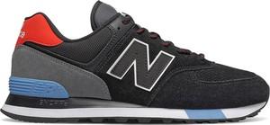 Czarne buty sportowe New Balance sznurowane 574