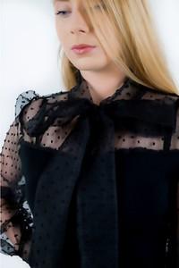 Czarna sukienka fagobutik.pl