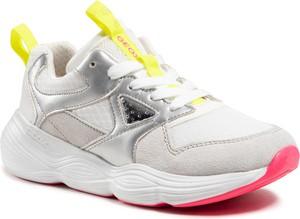 Buty sportowe Geox w sportowym stylu sznurowane