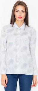 Koszula Figl z kołnierzykiem z długim rękawem