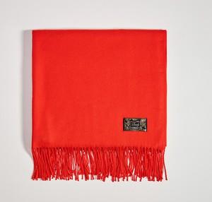 Czerwony szalik Mohito