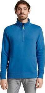 Niebieska bluza Tom Tailor z bawełny