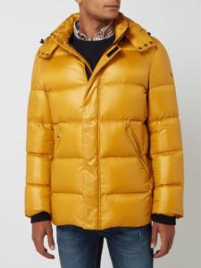 Żółta kurtka Daniel Hechter krótka w młodzieżowym stylu
