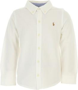 Koszula dziecięca Ralph Lauren z bawełny z długim rękawem dla chłopców