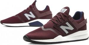 Czerwone buty sportowe New Balance