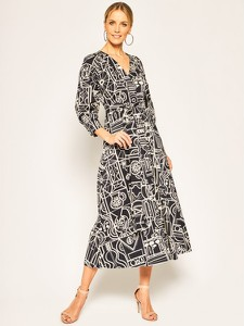 Sukienka Marella z dekoltem w kształcie litery v w stylu casual