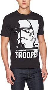 Czarny t-shirt star wars