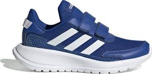 Niebieskie buty sportowe dziecięce Adidas na rzepy