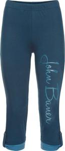 Granatowe legginsy bonprix john baner jeanswear