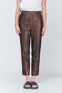 Brązowe spodnie Strenesse