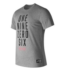 Koszulka New Balance z bawełny z krótkim rękawem