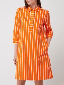 Sukienka Christian Berg koszulowa w stylu casual z długim rękawem